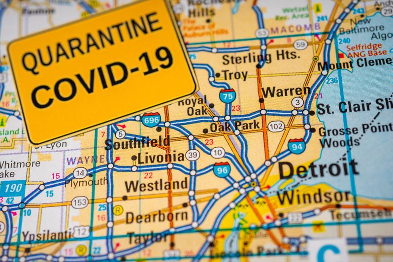 How Coronavirus Spread Through Detroit Police Department