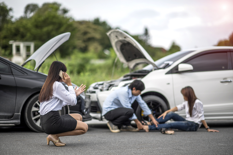 what happens if you cause further injury when helping an accident victim